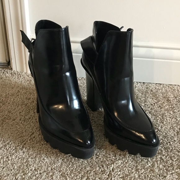 Zara Shoes   Zara Platform Boots   Poshmark